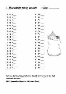 Prepolinoch Mathematik Allgemein Reihen Kleines 11